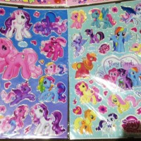 Sticker My Little Pony . Stiker pinkie pie rainbow dash