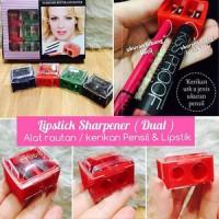 Alat Kerikan / Rautan Lipstik Dual (Lipstick Sharpener) / Serutan