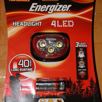 harga Headlamp Energizer 4 LED (Senter Kepala) Tokopedia.com