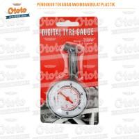 Pengukur Tekanan Angin/ Dial Tire Gauge Racing Type R YH-9202