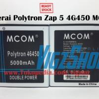 Baterai Polytron ZAP 5 4G450 5000mah Mcom Double Power