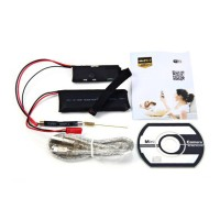 Mini Spy Cam CCTV Full HD 1080p Terkecil Wifi/Ip P2P Night Vision
