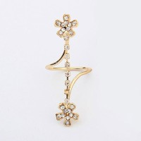 Cincin Korea Forever 21 Flower Shape with Diamond