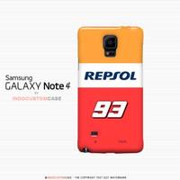 harga Marc Maquez Repsol Honda Galaxy Note 4 Custom Hard Case 1P2H Tokopedia.com