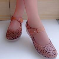 sandal sepatu wanita laser mulan