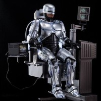 Hot Toys Robocop Diecast w Mechanical Chair, New - Rare & last Stock