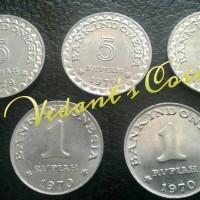 Jual Uang Koin Kuno Paket 1 Mahar 17 Rupiah - UNC Murah
