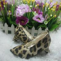 sepatu heels baby leon yellow