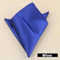 harga Blue Men Pocket Square Handkerchief - Saputangan Sapu Tangan Jas Biru Tokopedia.com