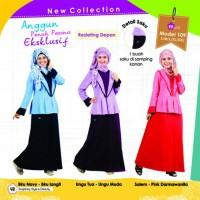 Gamis | Dress Muslimah extra Blazer Mutif Model 109