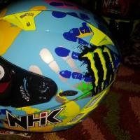 harga Helm Nhk Gp Tech Limited Gptech Fullface Full Gp Finger Fluo Tokopedia.com