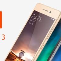 XIAOMI REDMI 3 [RAM 2/16GB] GOLD - GAARANSI 1 TAHUN