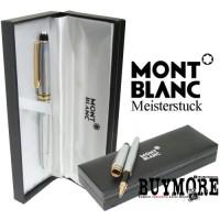 Ballpoint Pulpen Pen Montblanc Meisterstuck Silver