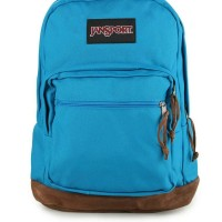 Jansport Right Pack ORIGINAL warna Blue Crest