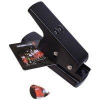 Pemotong Pick Gitar Flanger Guitar Pick Puncher / Cutter