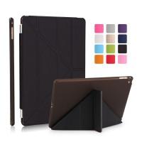 iPad 2 / 3 / 4 Black Smart V Transformer Cover Case   Casing Hitam