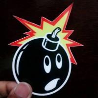 Stiker The Hundreds / Sticker The Hundreds / Sticker Pack - Waterproof
