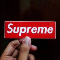 Stiker Supreme / Sticker Supreme / Sticker Pack - Waterproof