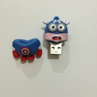 Flash Disk 64gb Minion Captain America