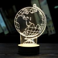 harga lampu meja 3D bola dunia globe Tokopedia.com
