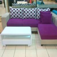 sofa L minimalis harga pabrik