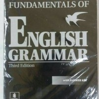 fundamental of english grammar ( betty schrampfer azar ) third edition