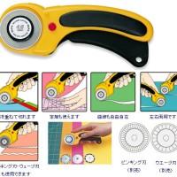 harga Olfa Cutter : #156B Safety rotary cutter / 1pc Tokopedia.com