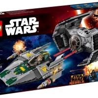 harga LEGO 75150 STAR WARS Vader's TIE Advanced vs. A-wing Starfighter Tokopedia.com