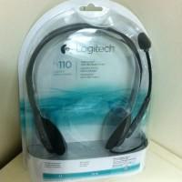 Logitech h110 Stereo Headset garansi 1 tahun