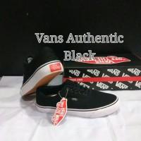 SEPATU VANS AUTHENTIC BLACK