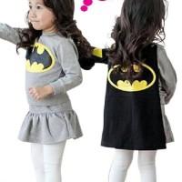 Baju Anak Perempuan | Baju Setelan Anak Batman | Baju Kostum Anak