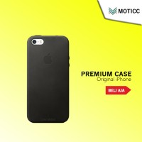 Official Original Apple iPhone 5 / 5S / SE Leather Case Kulit Premium