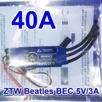 Jual ESC Brushless 40A Original ZTW Beatles BEC UBEC 5V/3A Airplane Murah