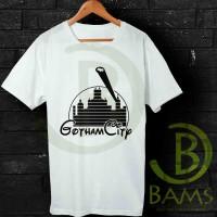 Kaos Oblong, Kaos Distro, Kaos Logo, Kaos Batman Gotham City Funny