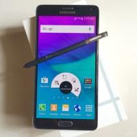 Samsung Galaxy Note 4 Lte 4g+ Mulus Fullset Original Black White Pink