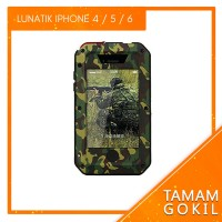 Case Lunatik Taktik ARMY Iphone 4 / 4s / 5 / 5s / 6 /6s Gorilla Glass