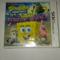 "kaset 3ds ""SPONGEBOB SQUAREPANTS"""
