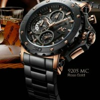 jam tangan ALEXANDRE CHRISTIE AC 9205 MC rose gold