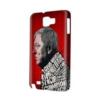 Manchester United Sir Alex Ferguson Hardshell Case Galaxy Note 1 N7000
