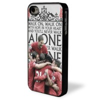 Liverpool FC You'll never Walk alone Case for iPhone 4 4G 4S