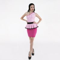harga PREMIUM HERVE LEGER - SCARLETT PINK PEPLUM DRESS - BODYCON - BANDAGE Tokopedia.com