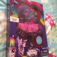 Toys/ boneka. My little pony Equestria Girls. Twilight sparkle. asli