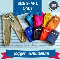 harga Joger/ Jogger Pant Semi Jeans Anak Panjang L 5-6 Th /celana Tokopedia.com