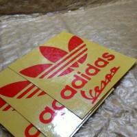 Vespa Cutting Sticker Adidas