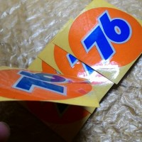 76 Sticker Cutting 3D Vespa Cafe Racer Honda Norton