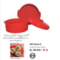 Steam It Tupperware (Kukusan)