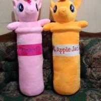 Boneka Guling Kuda Pony 60CM Soft Yelvo Pinkie Pie and Murah