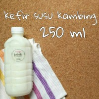 harga KEFIR SUSU KAMBING 250ML Tokopedia.com
