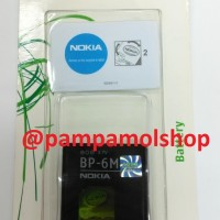 harga Batre / Baterai / Batrai / Battery Nokia BP-6M / BP6M 6233 ORI Tokopedia.com