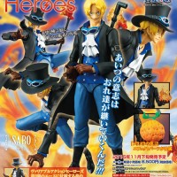 HBJ4238 Variable Action Heroes One Piece Series Sabo (PVC Figure)